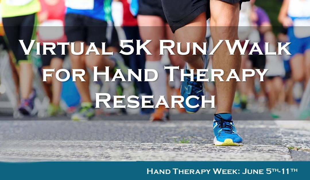 Virtual 5k Run/Walk for Hand Therapy Research