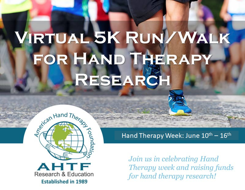 2018 Virtual 5K Run/Walk Registration For Hand Therapy Research