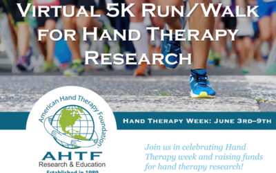 2019 Virtual 5K Run/Walk Registration For Hand Therapy Research