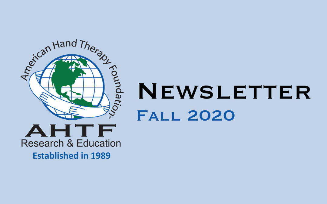 AHTF 2020 Newsletter is now available!