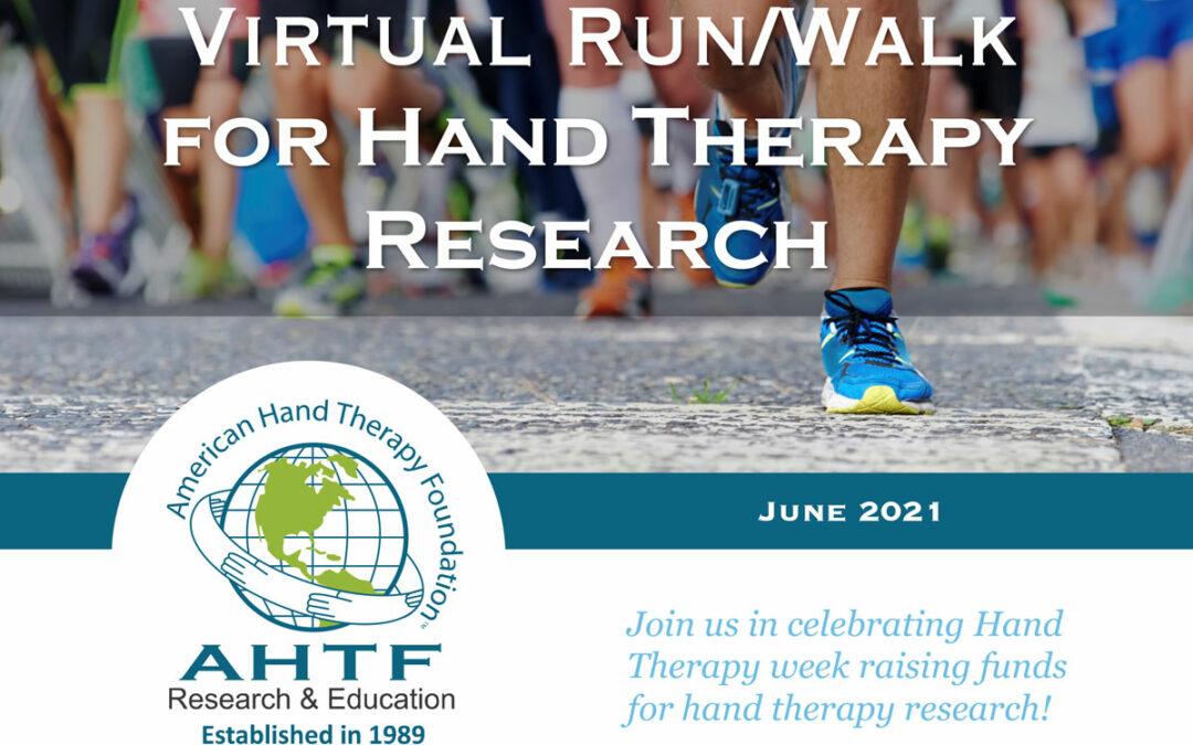 2021 Virtual Run/Walk for Hand Therapy Research Recap